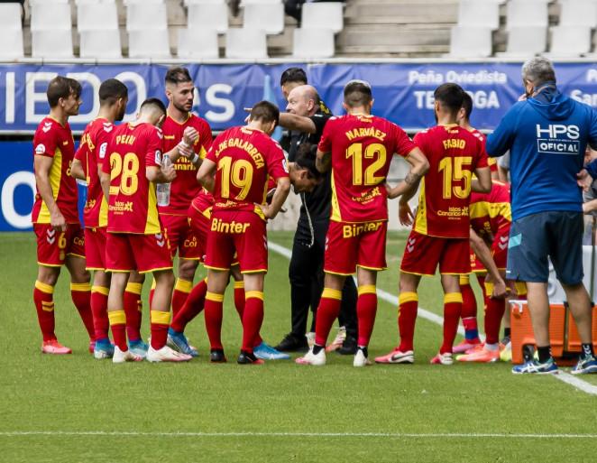 Las Palmas cae en Oviedo tras un mal partido de los amarillos