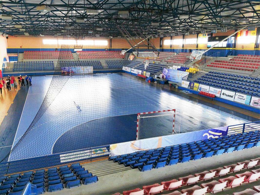 polideportivo Rita Hernández, Telde. Gran Canaria