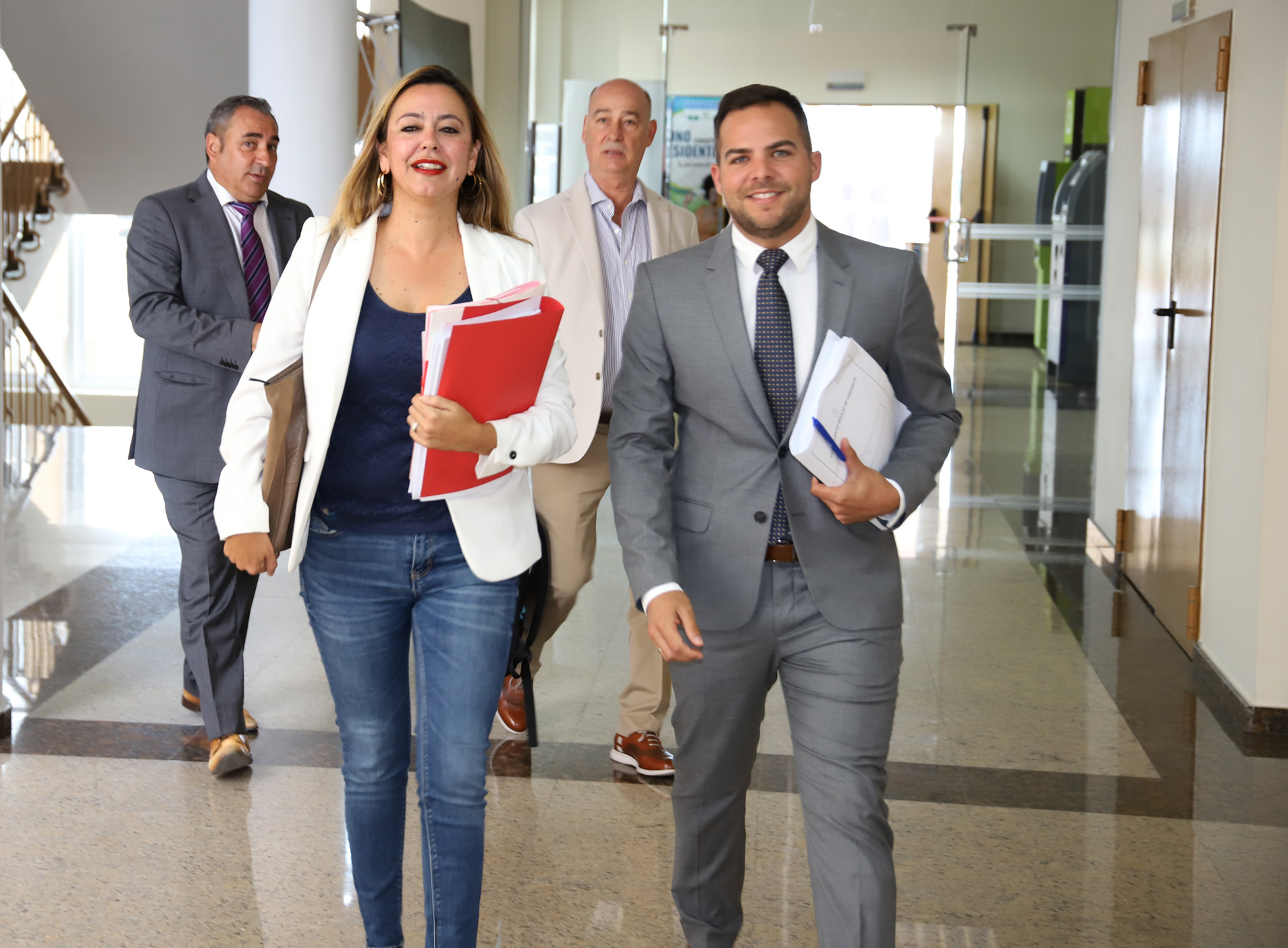María Dolores Corujo y Jacobo Medina. Lanzarote