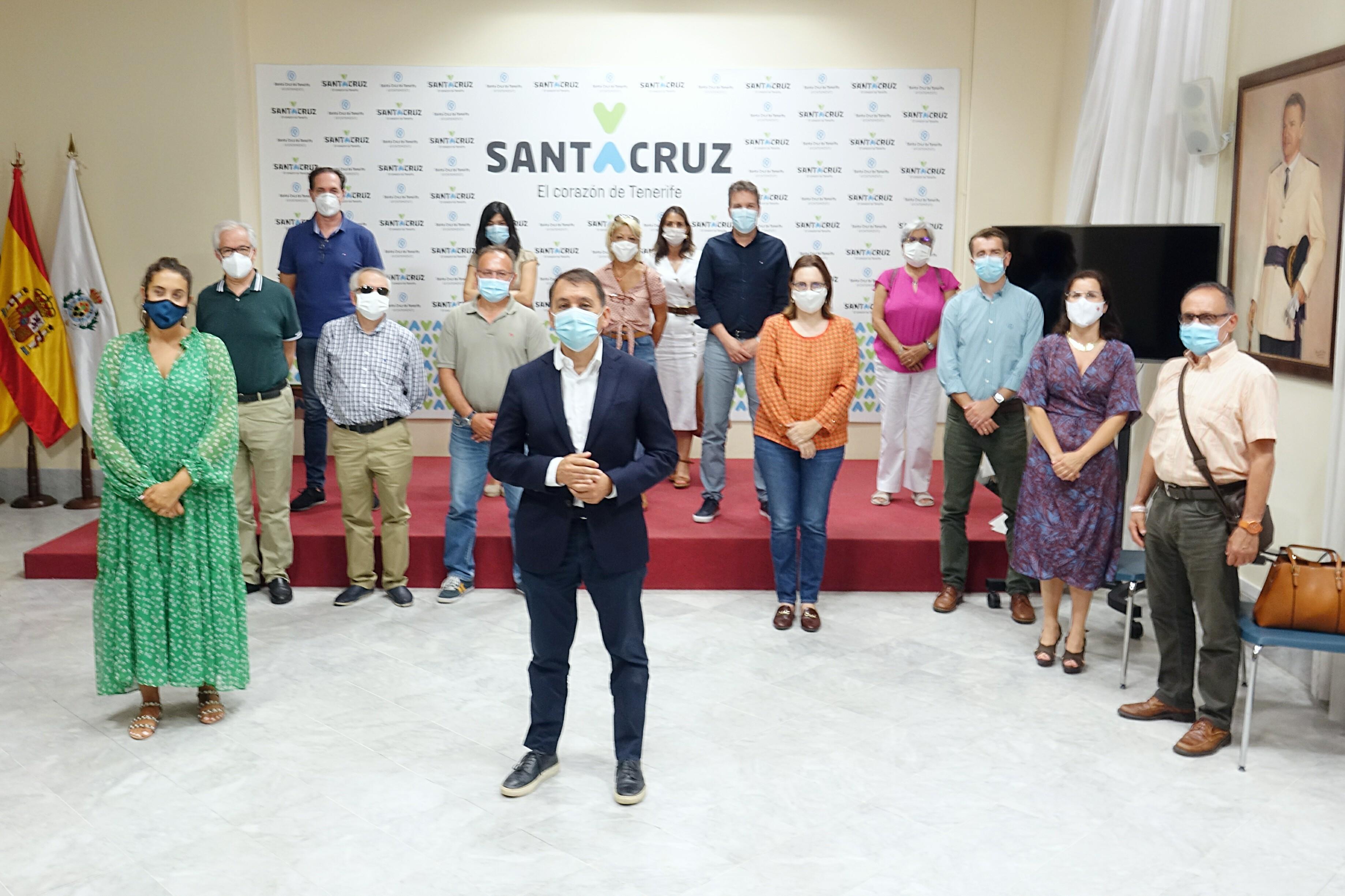 El alcalde José Manuel Bermúdez se reúne con el Tercer Sector. SC Tenerife