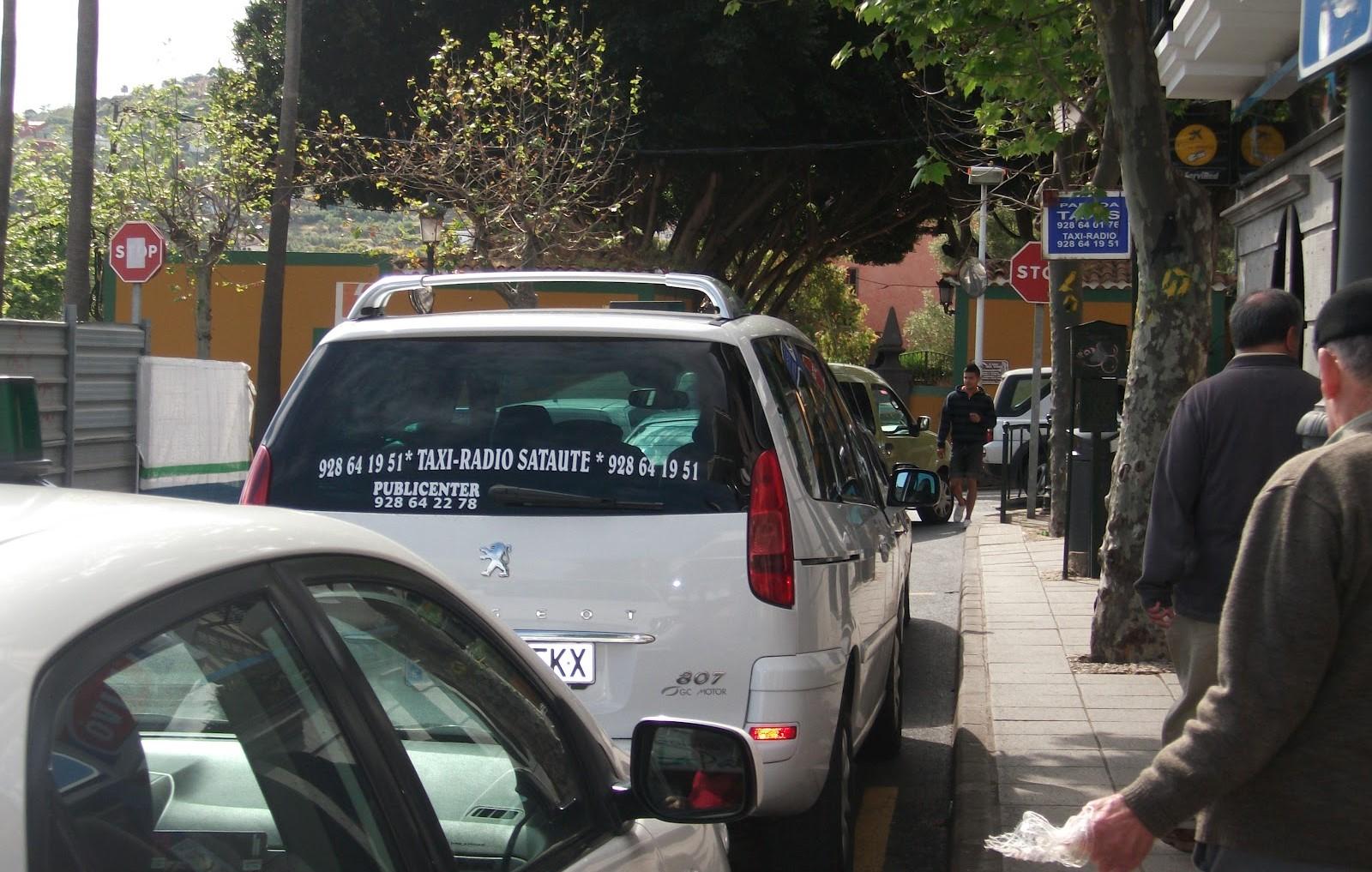 Taxis Santa Brígida. Gran Canaria