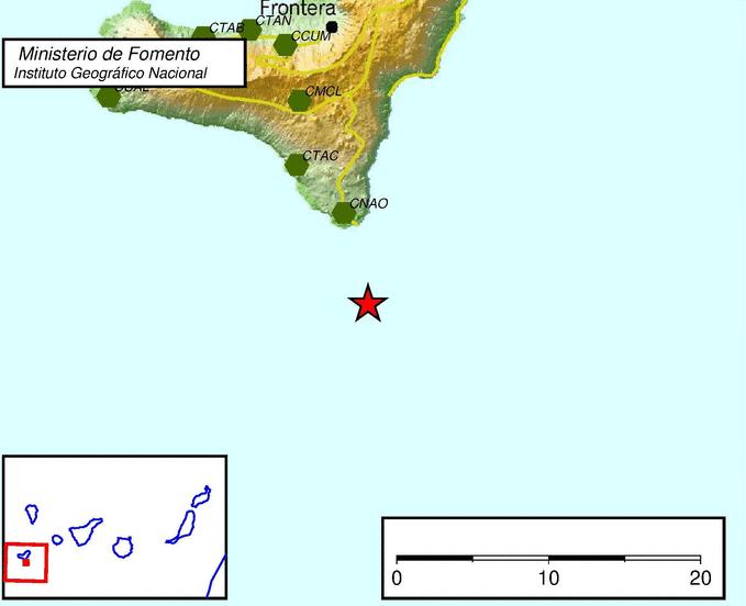 Terremoto en El Hierro