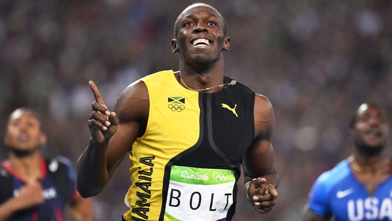 Usain Bolt presenta a su hija y revela su peculiar nombre