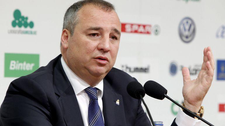 Miguel Ángel Ramírez. Presidente de la U.D. Las Palmas