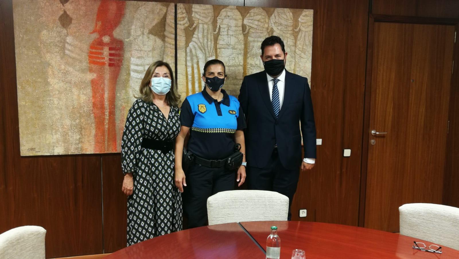 Carmen Delia Martín toma posesión como jefa de la Policía Local de Las Palmas de Gran Canaria