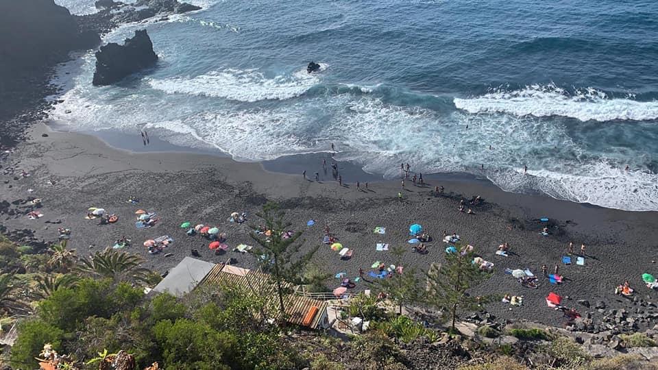 Playa del Bolludo, La Orotava. Tenerife
