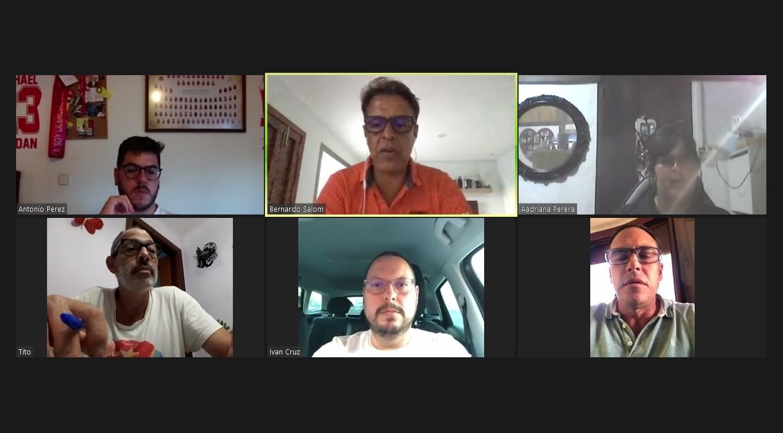 Reunión de la comisión Covid de la Federación de Vela Latina Canaria