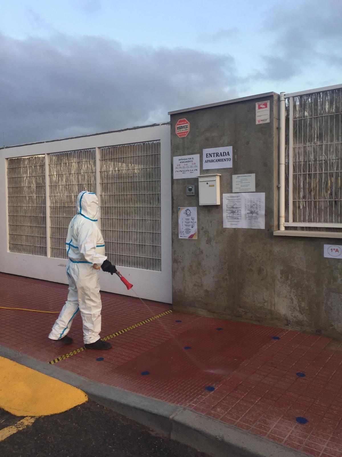 Mascarillas, mamparas y dispensadores para los centros educativos de San Miguel de Abona