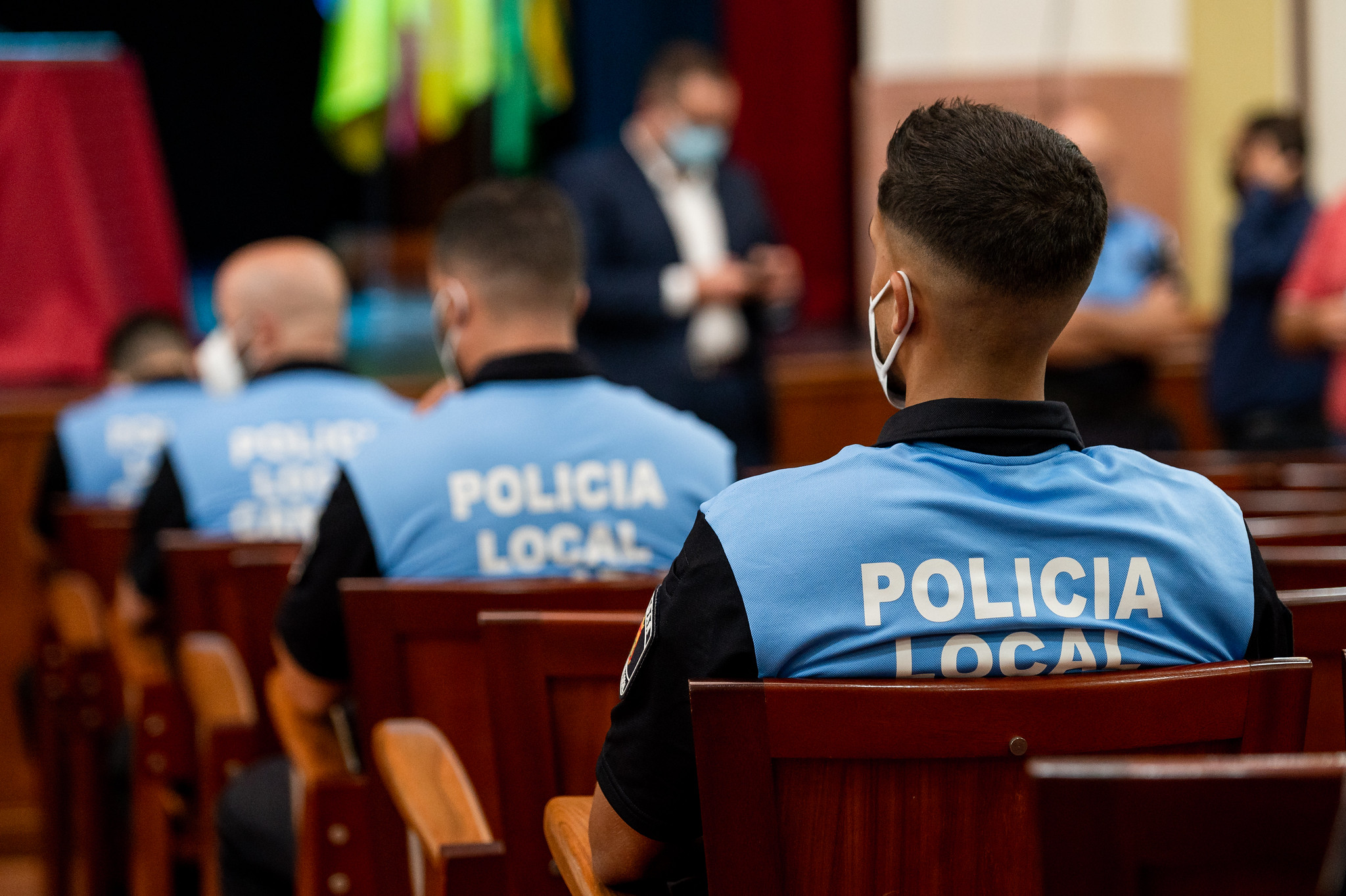 Incorporación de 12 nuevos agentes a la Policía Local de Gáldar. Gran Canaria