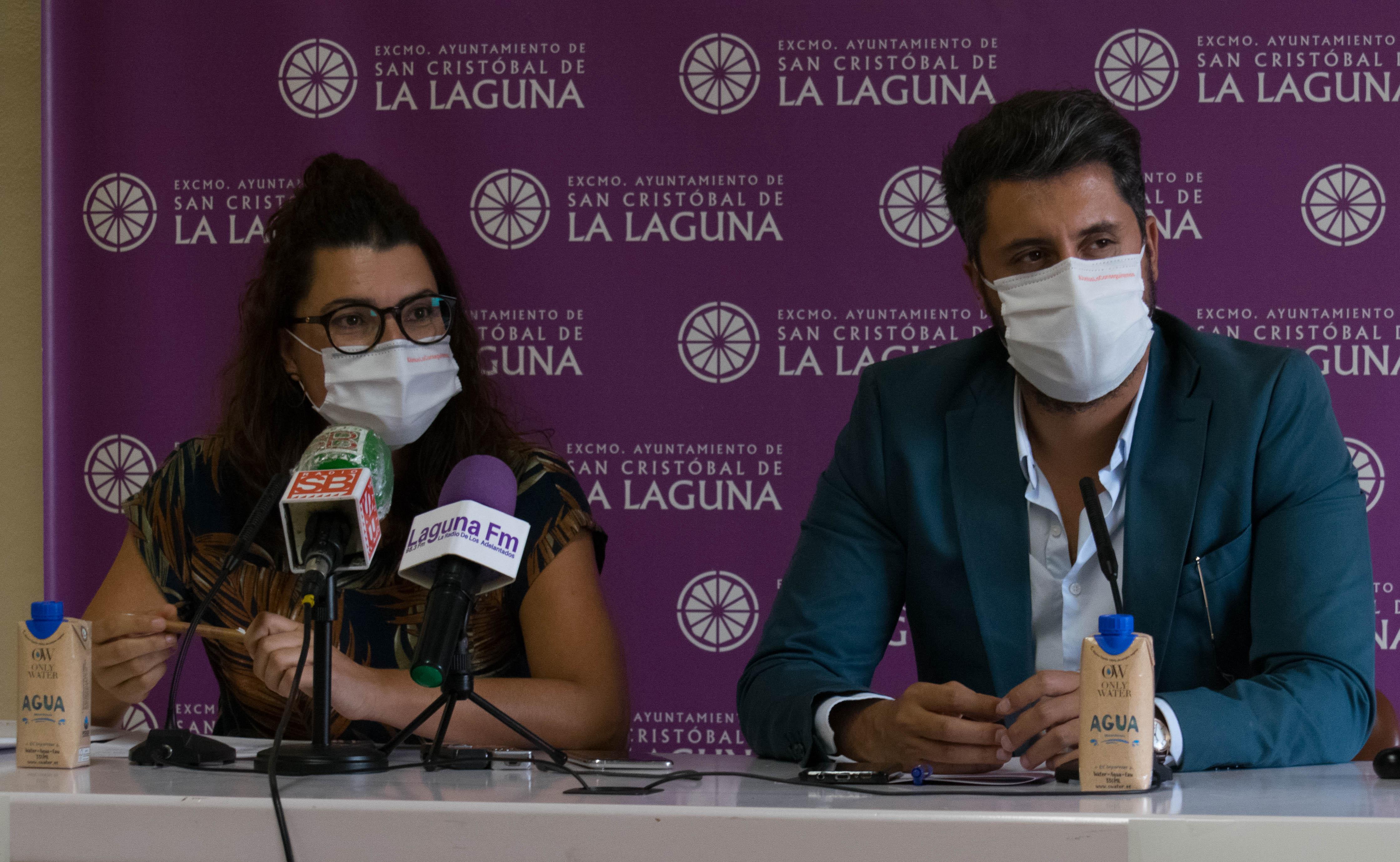 Luis Yeray Gutiérrez y María José Roca. San Cristóbal de La Laguna