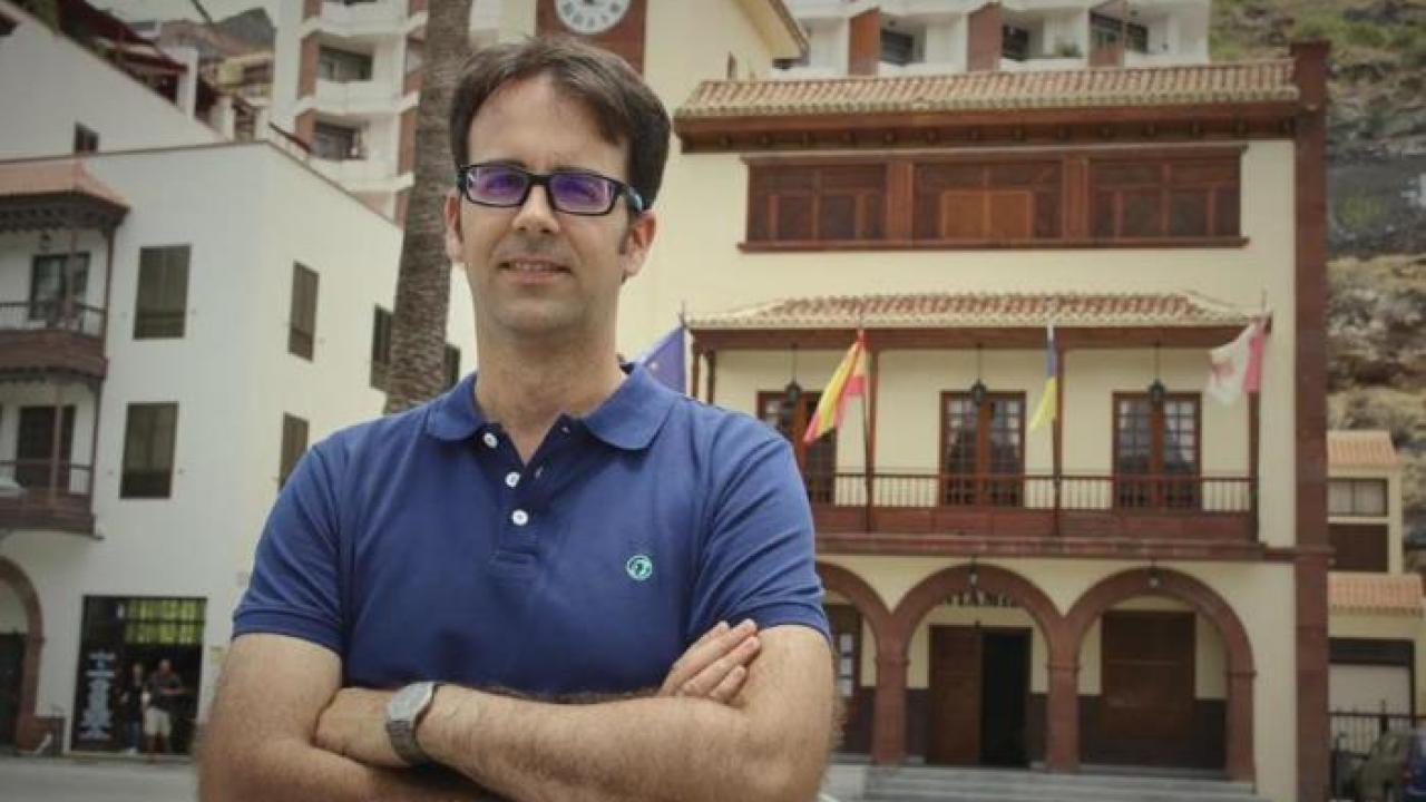 Adasat Reyes, alcalde de San Sebastián de La Gomera