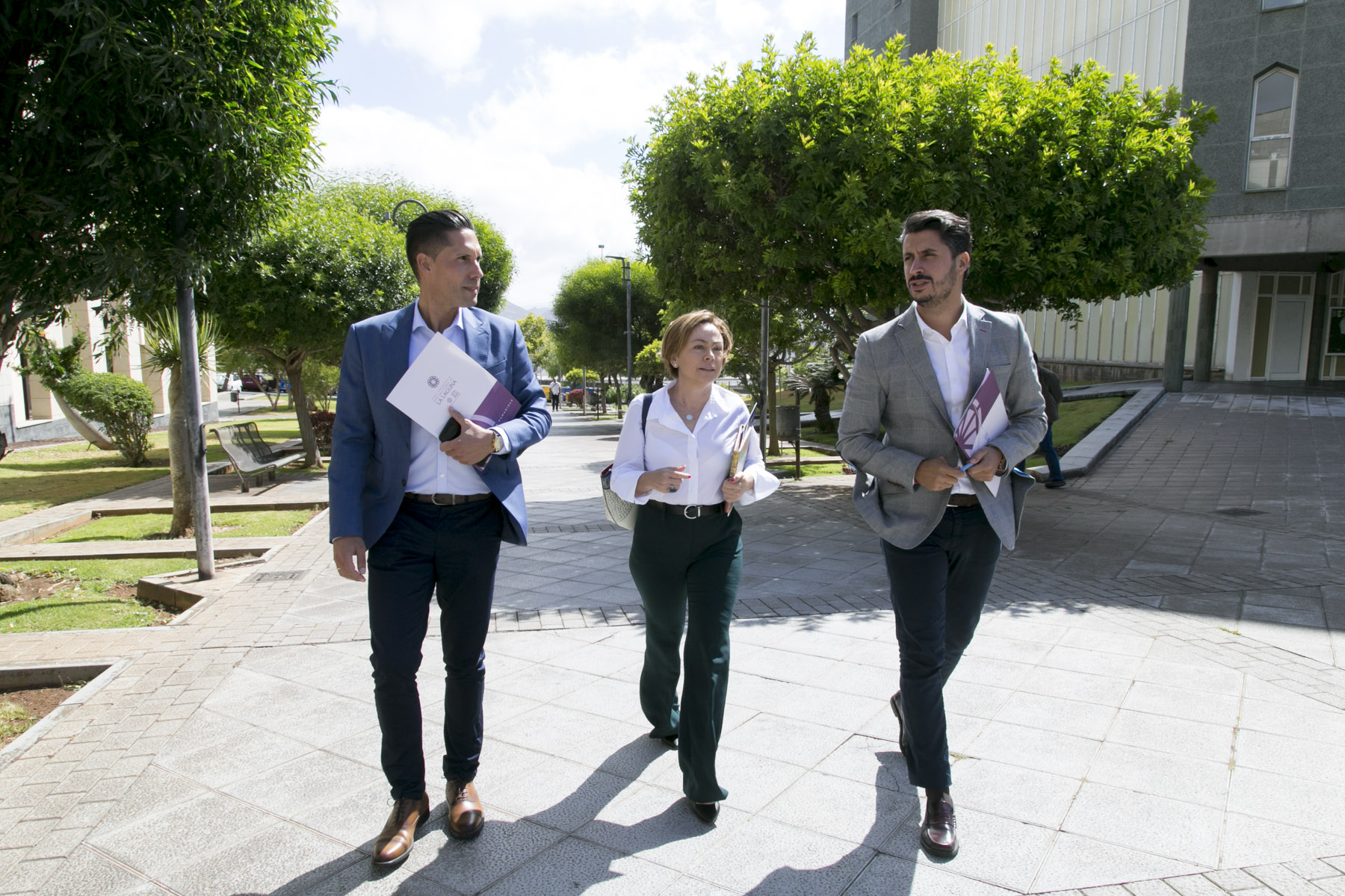 Ayuntamiento de La laguna y ULL llegan a un acuerdo para reabrir un solar en Gracia como aparcamiento público