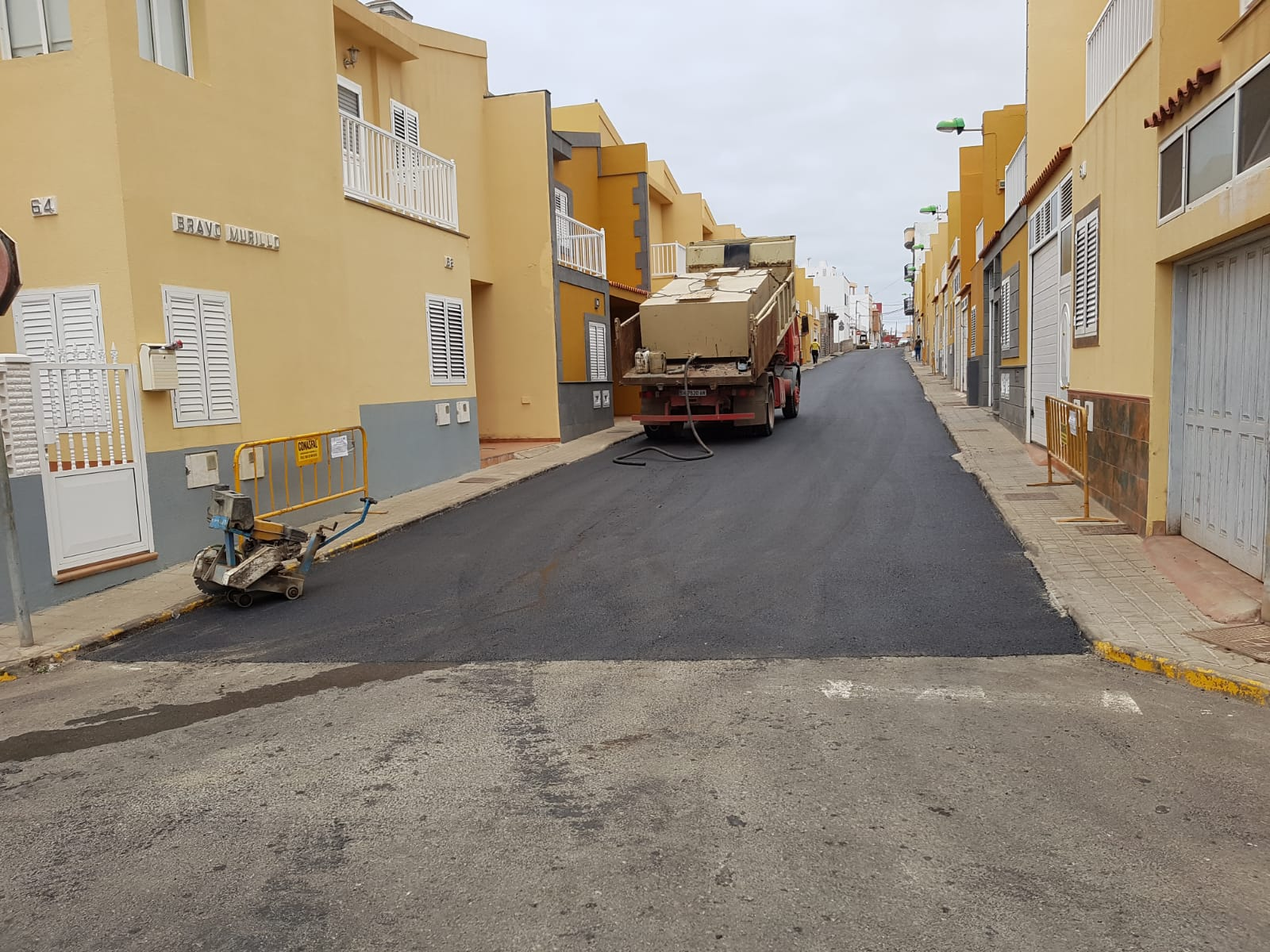 Proyecto de rehabilitación y mejora del firme en varios barrios de Gáldar