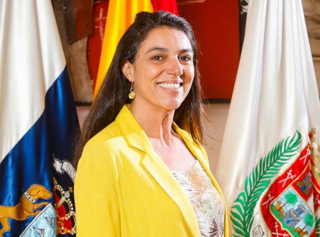Belén Hidalgo, concejala de Unidas Podemos en el Ayuntamiento de Las Palmas de Gran Canaria
