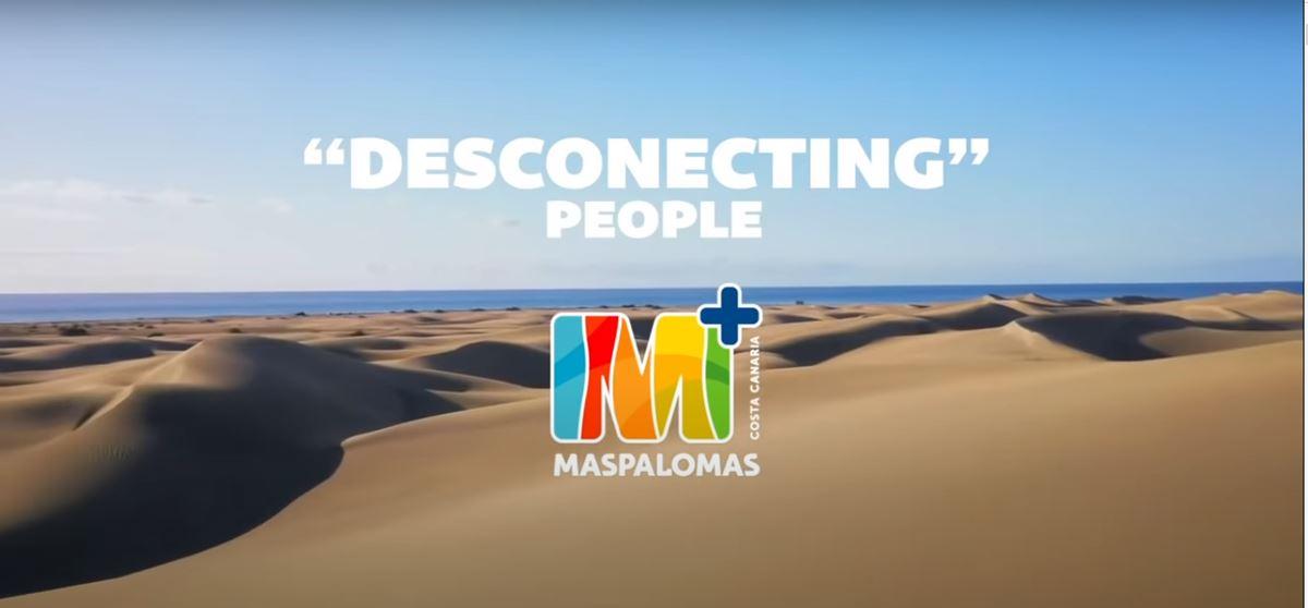 Campaña turística 'Desconecting People' de Maspalomas. Gran Canaria