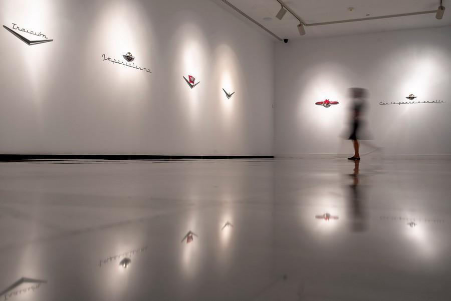 Exposición de Dagoberto Rodríguez en el CAAM. Las Palmas de Gran Canaria