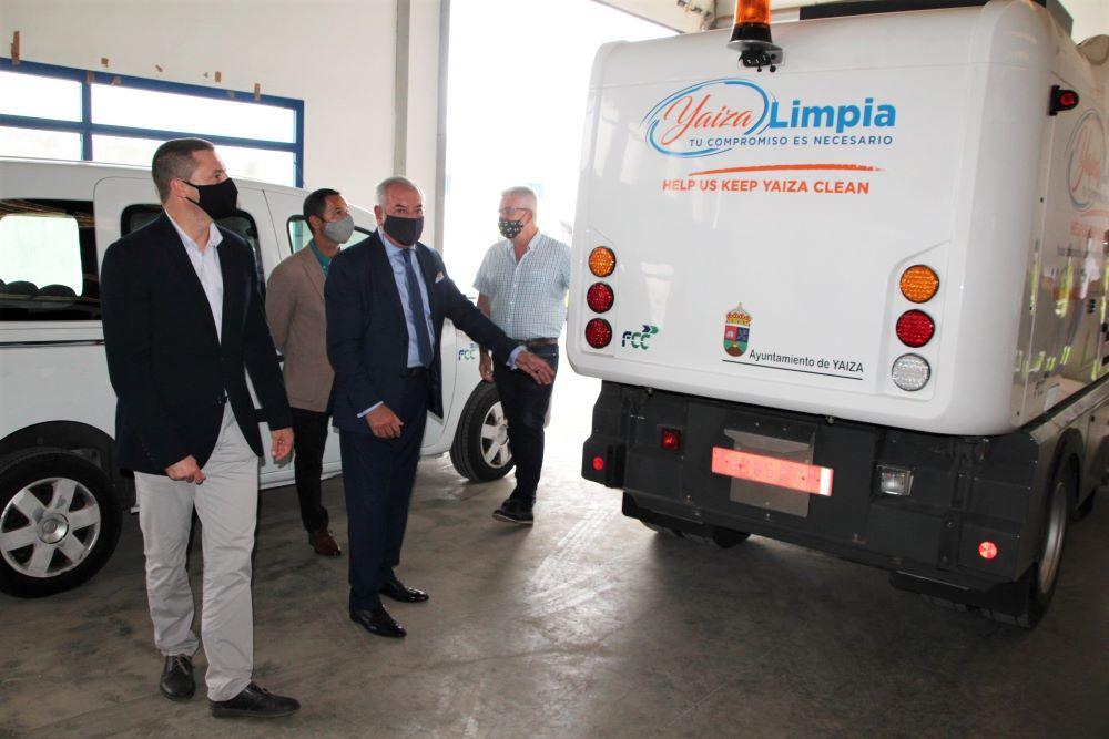 Yaiza pone en marcha un nuevo servicio de limpieza viaria