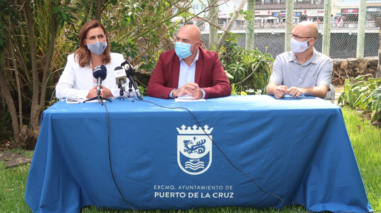 Pacto de Estado contra la violencia de género. Puerto de la Cruz. Tenerife