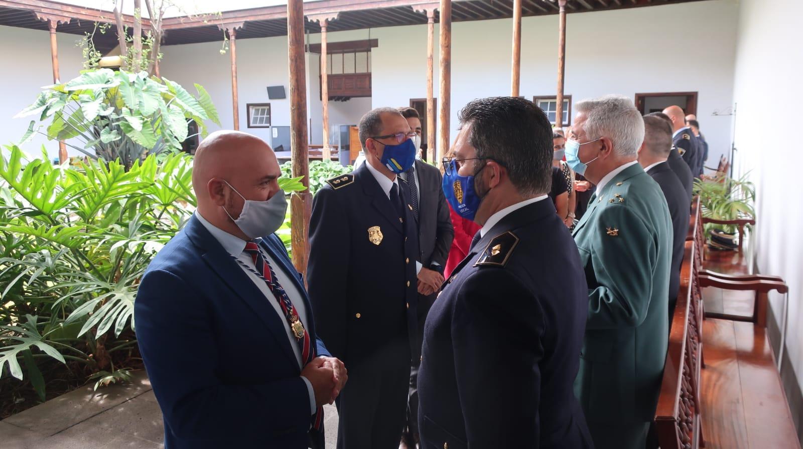 Entrega de distinciones de la Policía Local de Puerto de la Cruz. Tenerife