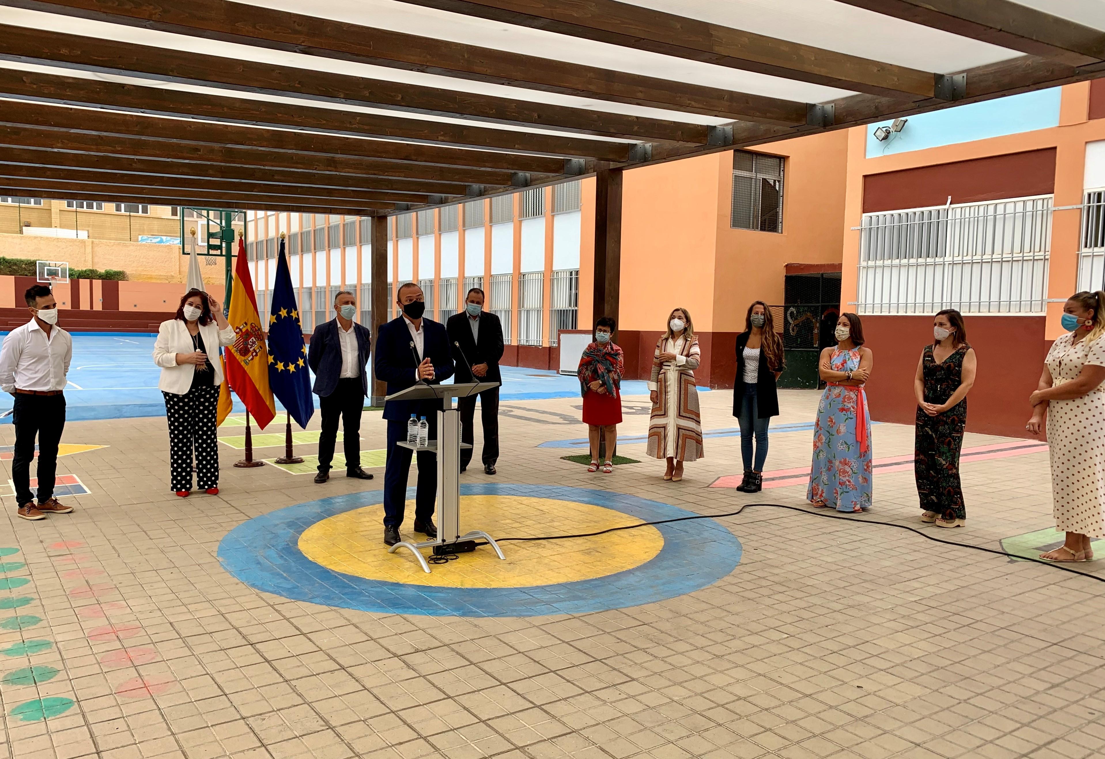 Inicio del curso escolar en Las Palmas de Gran Canaria