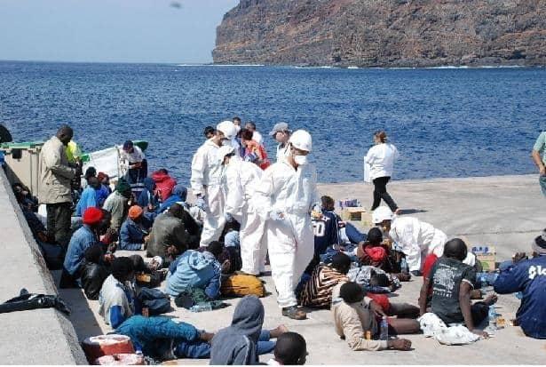 Inmigración en La Gomera