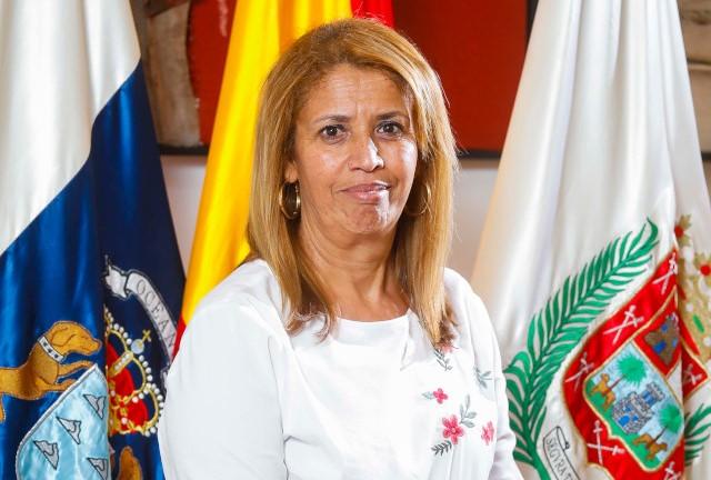 Mercedes Sanz, concejala de Unidas Podemos en el Ayuntamiento de Las Palmas de Gran Canaria