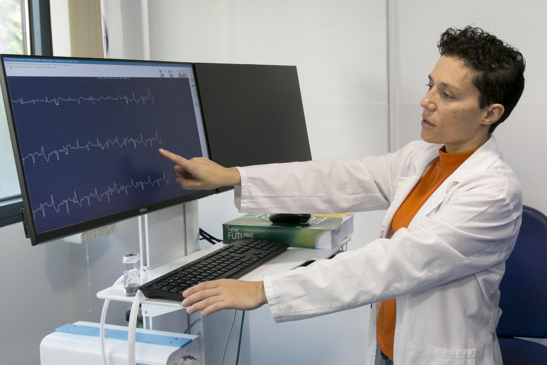 Miriam Sánchez, cardióloga de Hospital Parque