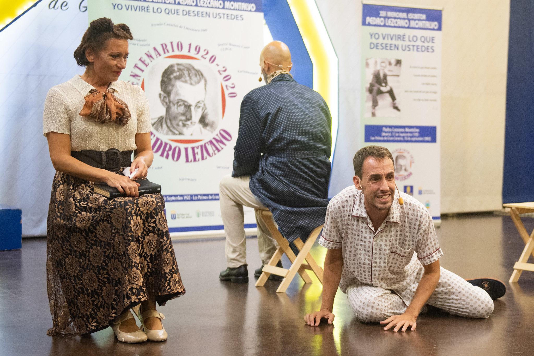 """El Cabildo de Gran Canaria estrena 76 años después """"Desconfianza"""", texto que nunca se representó porque Lezcano no se plegó a cambiar el final como le imponía la censura"""