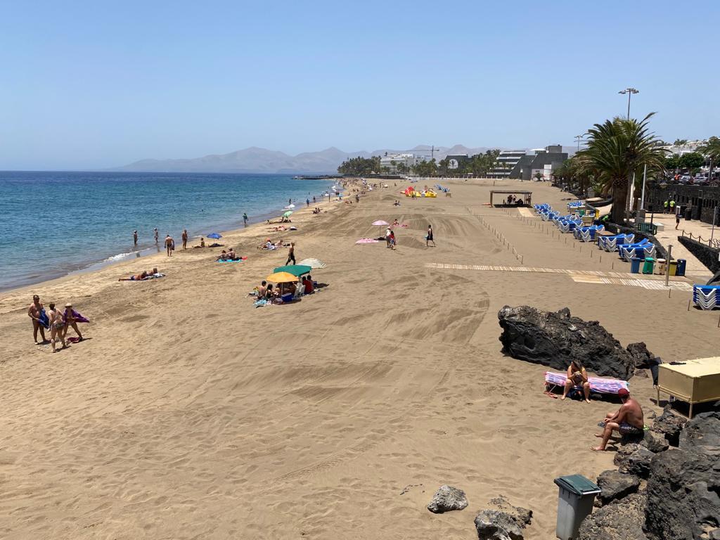 Playa de Puerto del Carmen, Tías. Lanzarote