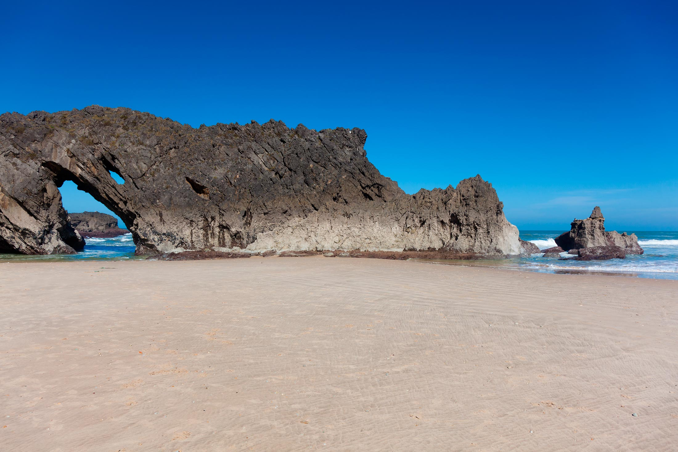 La playa de San Antolín. Asturias