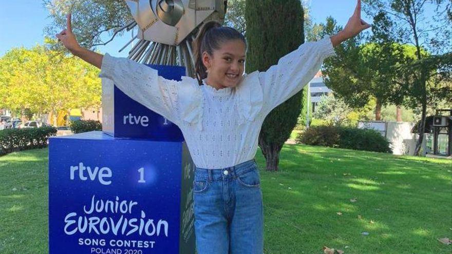 Soleá, representará a España en el Festival de Eurovisión Junior 2020