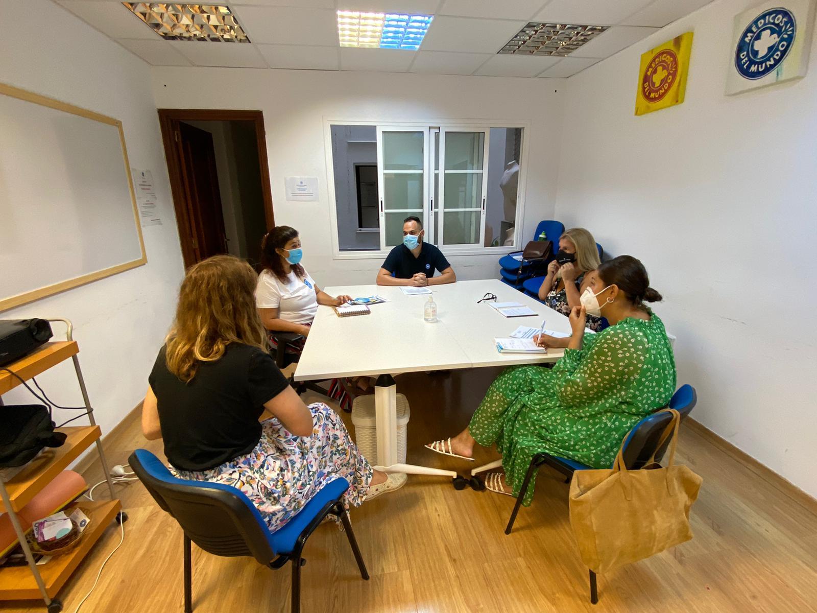 Firma del Convenio con Médicos del Mundo, Santa Cruz de Tenerife