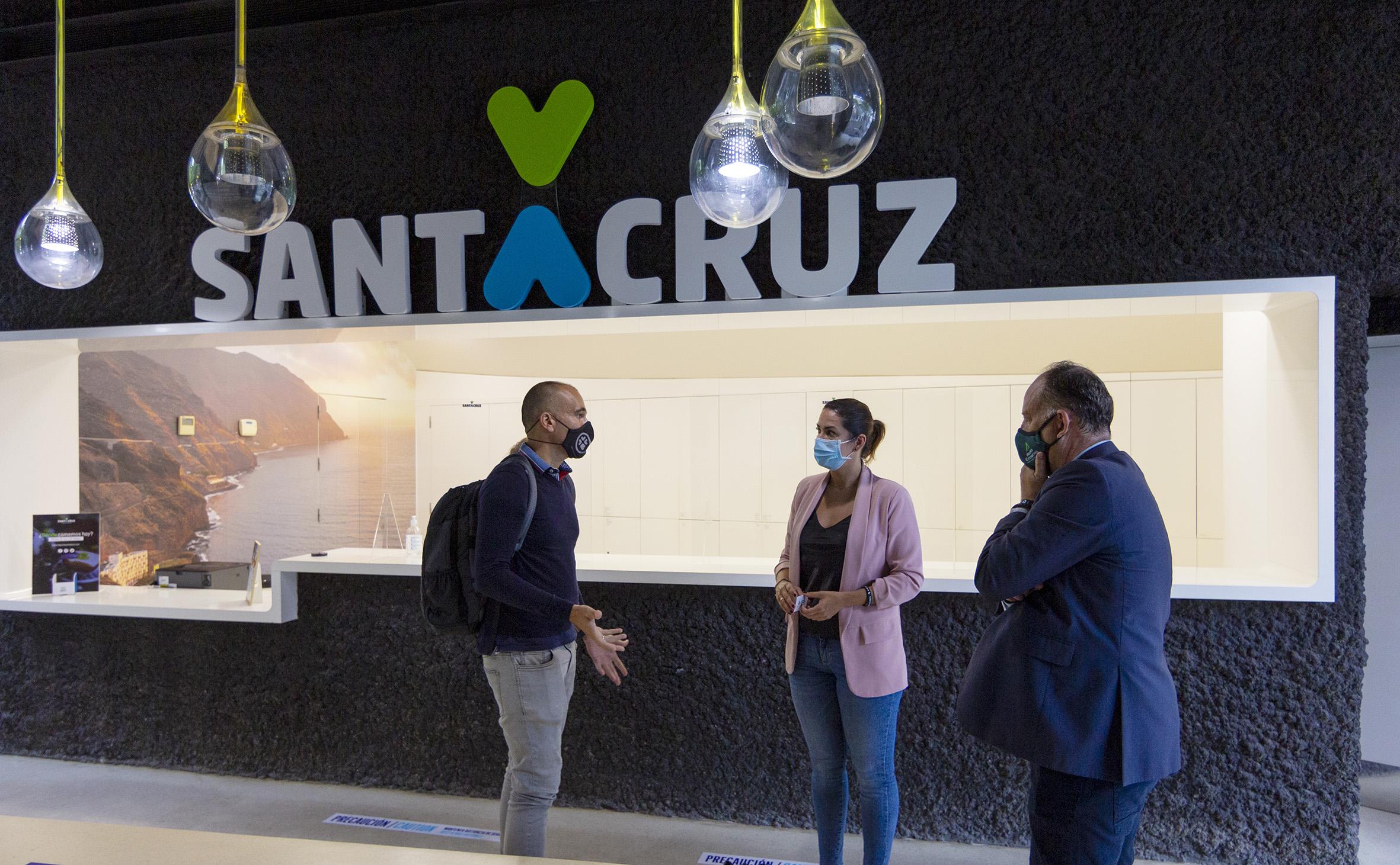 Reapertura de la Oficina de Información Turística. Santa Cruz de Tenerife