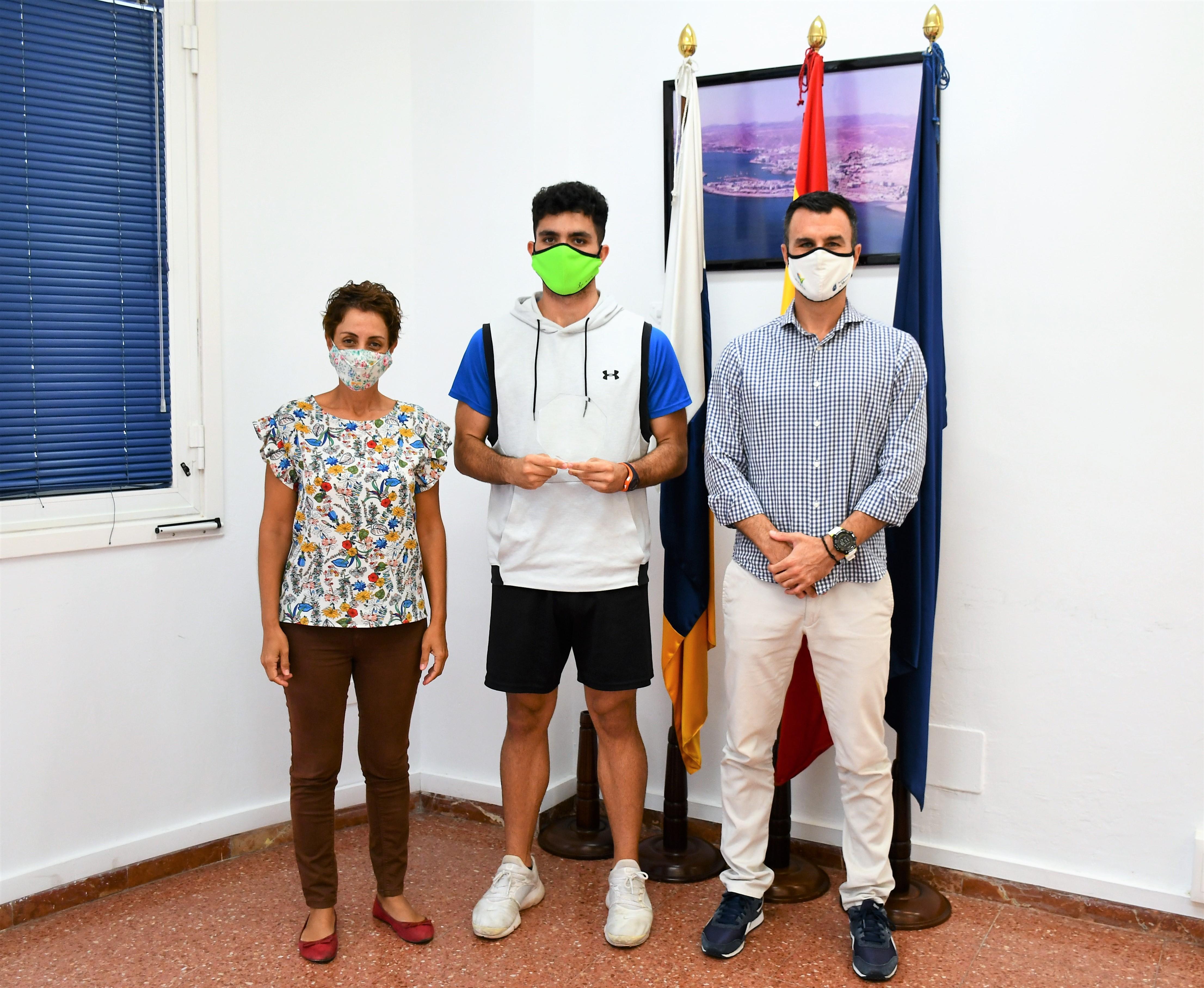 Onelia Bueno, Luis Becerra y Antonio del Rosario