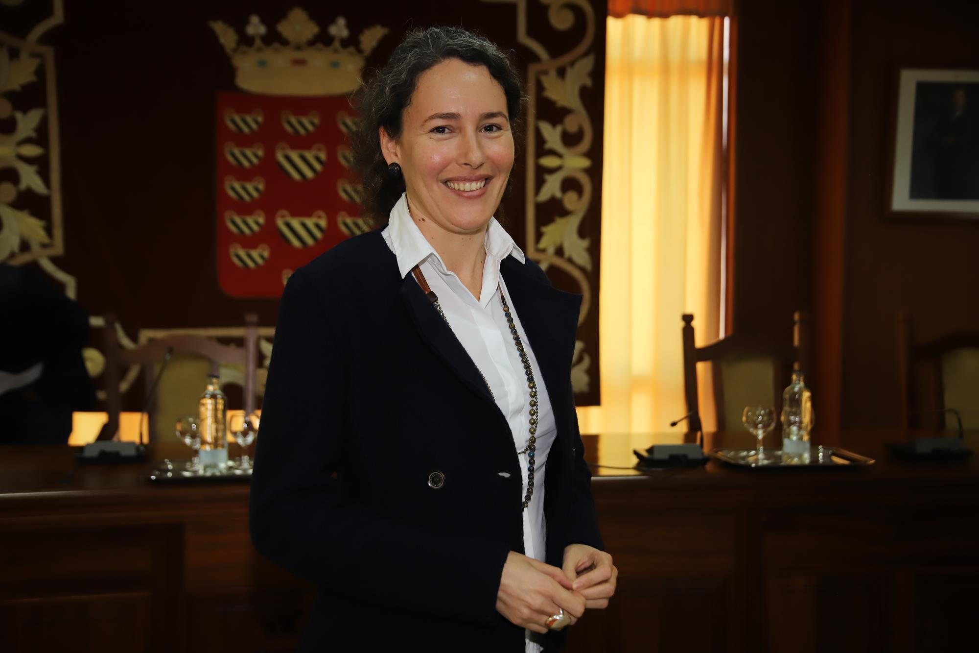 Ariagona González, consejera de Industria del Cabildo de Lanzarote