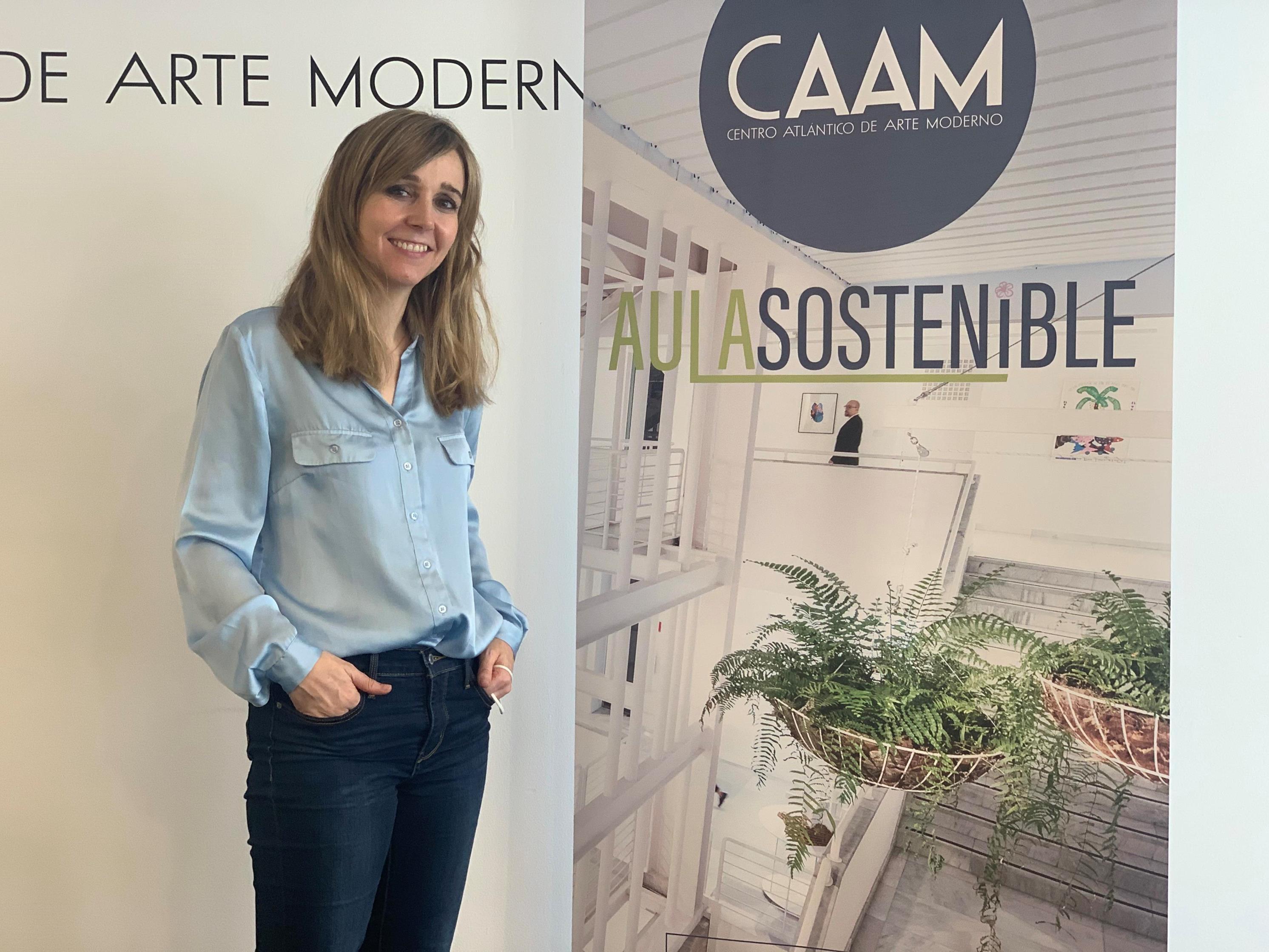 Blanca de la Torre, responsable del Aula Sostenible del CAAM