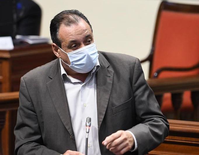 Blas Trujillo, consejero de Sanidad de Canarias