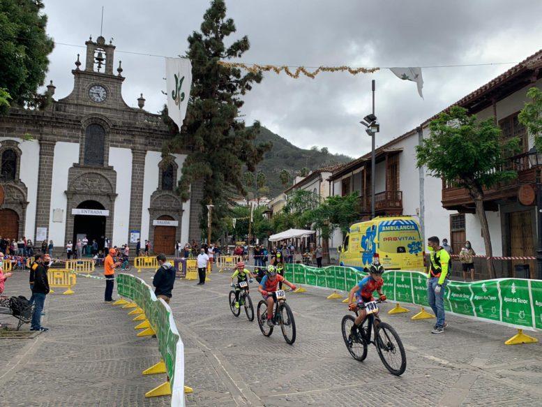 Teror acogió la carrera de Escuelas de Ciclismo 'Ciclonorte Aterore'