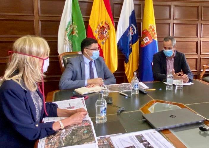 Santa Brígida saca a licitación la obra del nuevo acceso al Casco desde la GC-15
