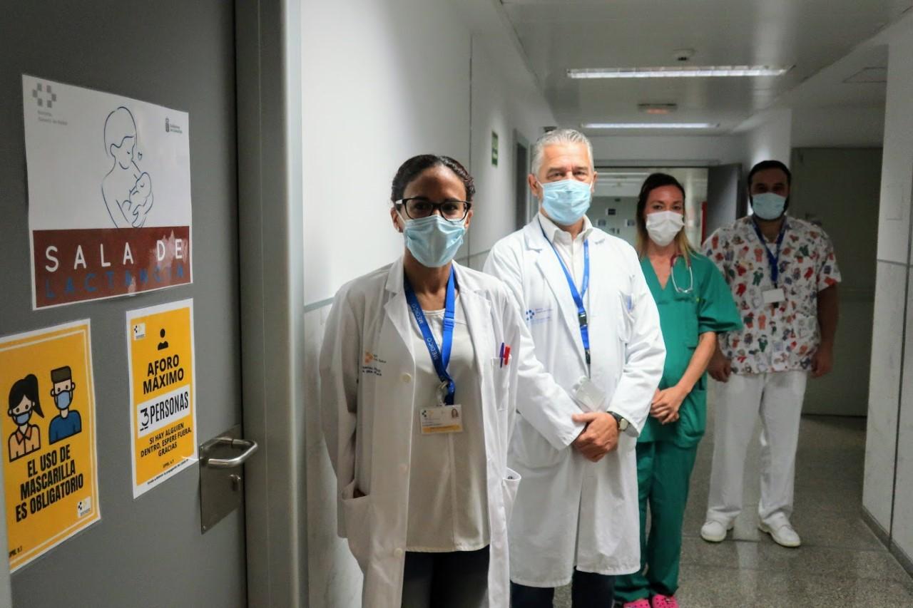 Lactario. Hospital de La Candelaria