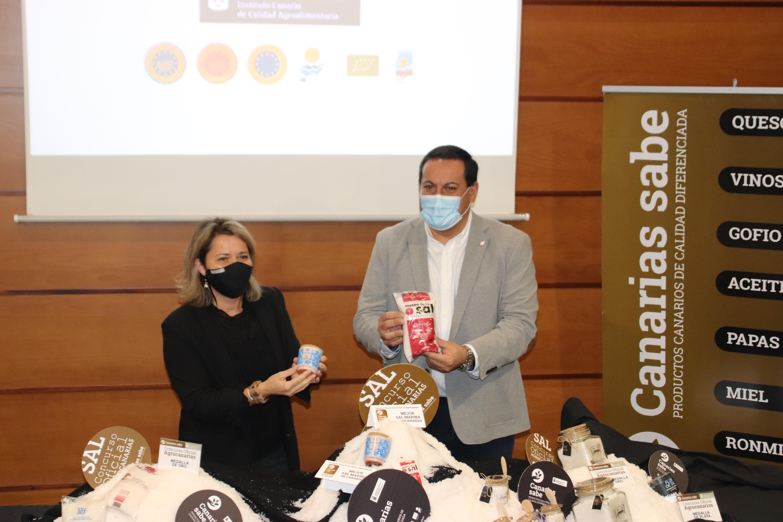 Las Salinas del Carmen ganadora del Concurso Oficial de Sal Marina Agrocanarias 2020