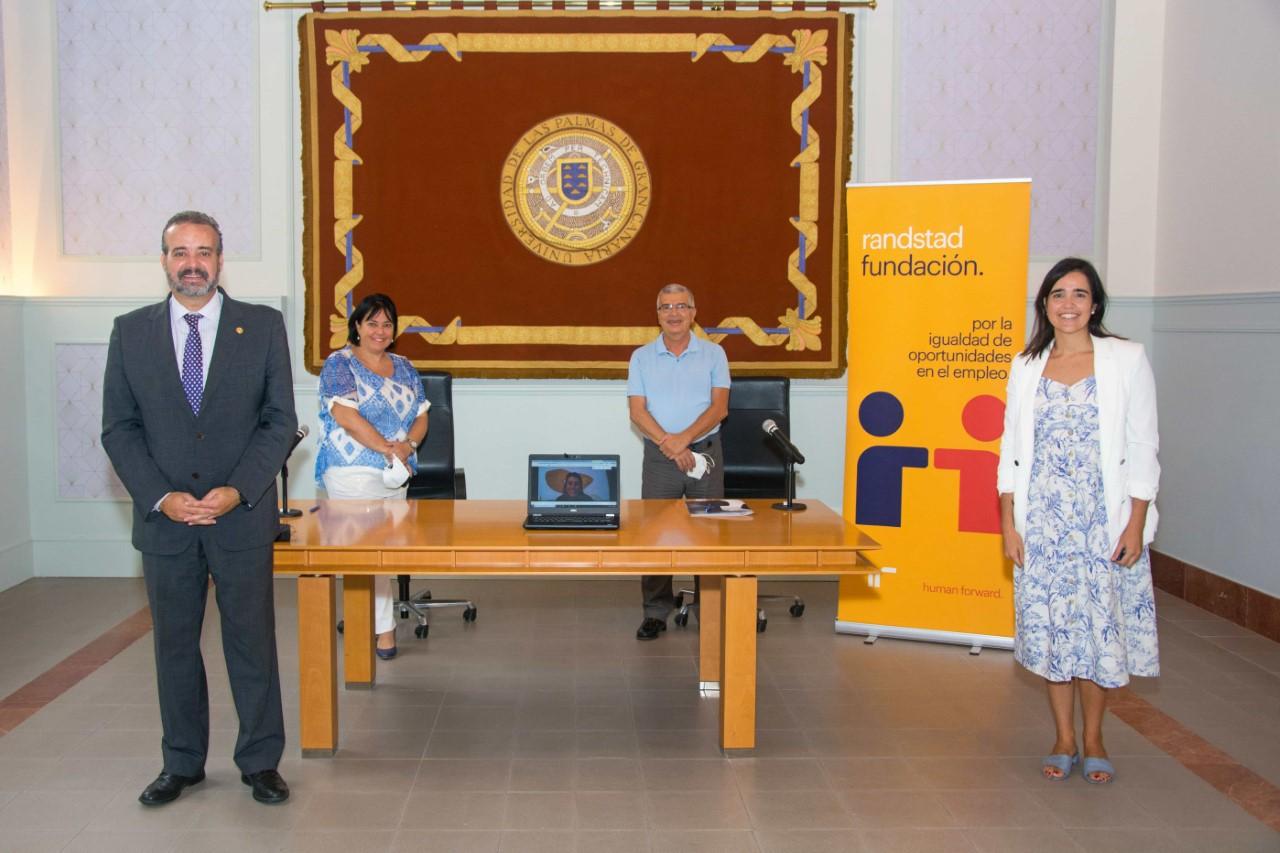 La Fundación Randstad colabora con la Universidad de Las Palmas de Gran Canaria para la integración laboral de estudiantes con discapacidad
