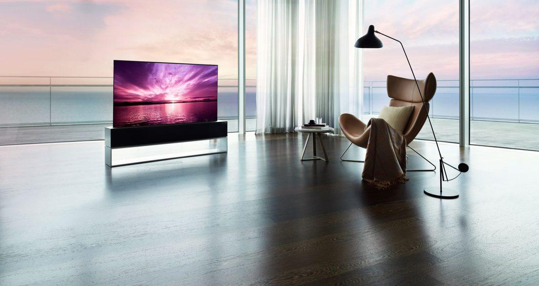 Televisor LG Signature OLED R