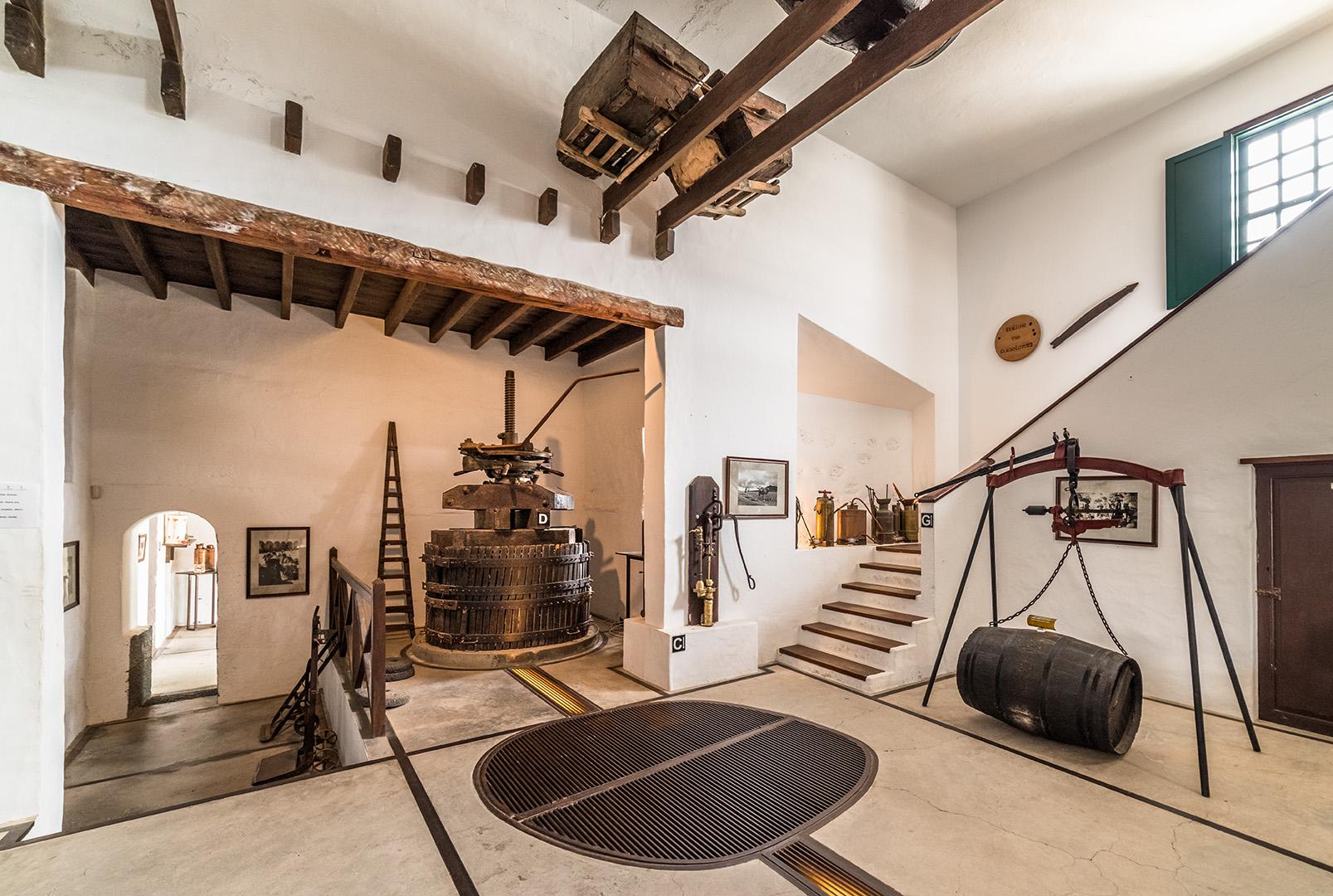 Museo de Bodegas El Grifo. Lanzarote