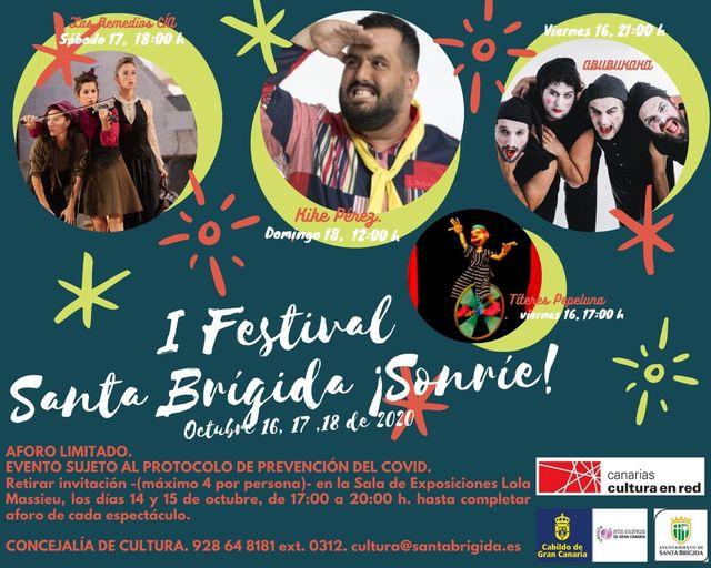 Festival Santa Brígida ¡Sonríe!