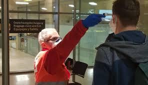 Test de coronavirus en aeropuertos