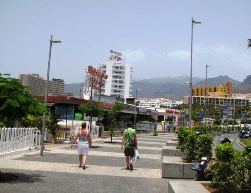 Zona turística de Canarias