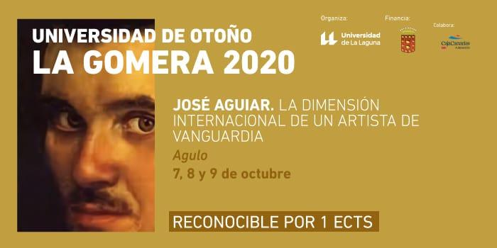 """Curso """"José Aguiar"""" en la Universidad de Otoño de La Gomera"""