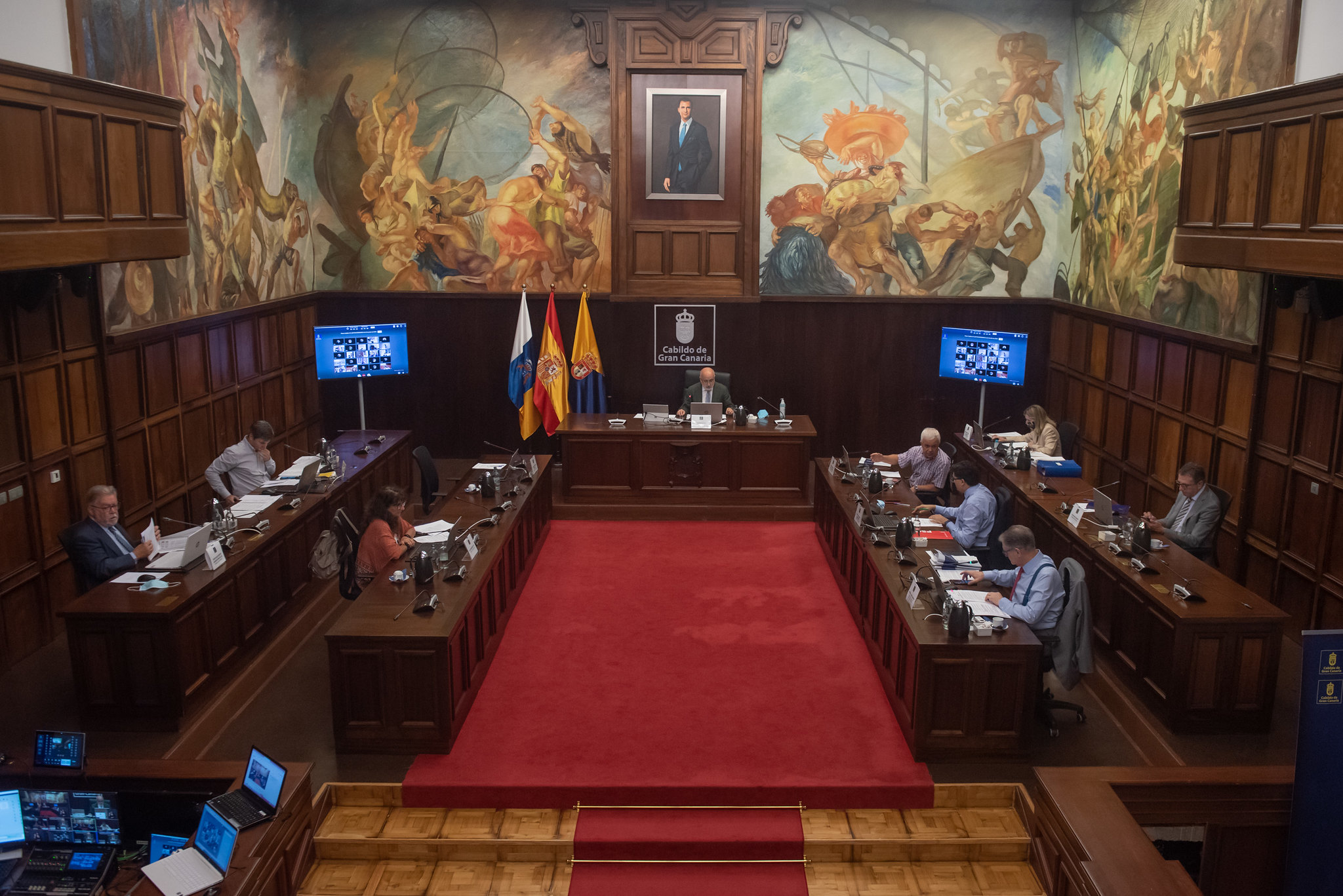 Pleno del Cabildo de Gran Canaria/ CanariasNoticias.es