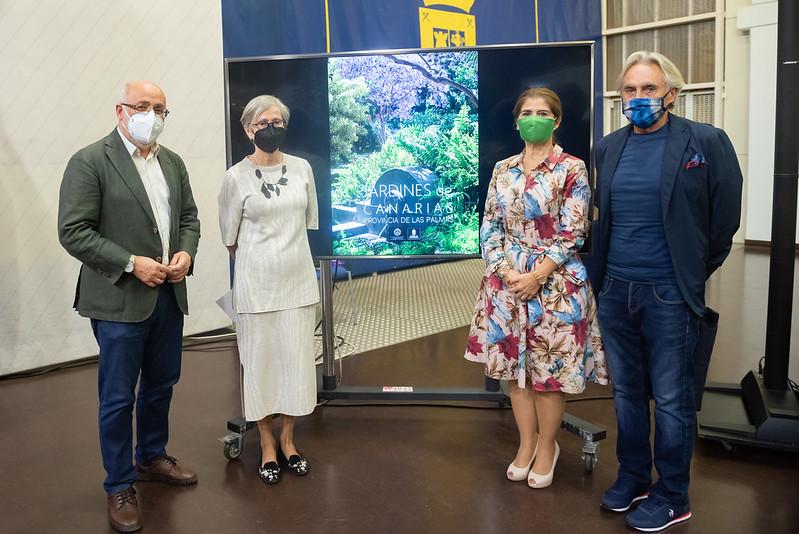 El Cabildo de Gran Canaria y la Real Academia Canaria de Bellas Artes editan el libro 'Jardines de Canarias'
